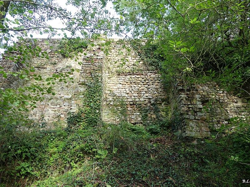 Mur mérovingien