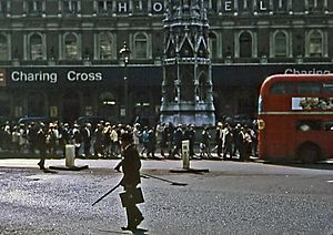 Charing Cross railway station - The station in 1971