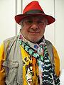 Charlemagne Palestine at De Appel 1 feb 2014.JPG