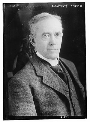 Charles A. Prouty - Prouty in 1918