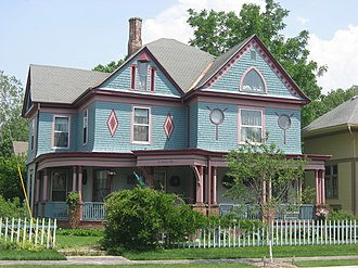 National Register of Historic Places listings in Clinton County, Indiana - Image: Charles H. and Emma Condon House