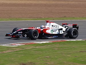 Charles Pic - Pic competing at the Silverstone round of the 2008 Formula Renault 3.5 Series season.