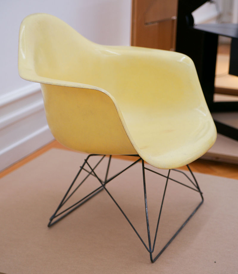 Molded Plastic chair by the Eames