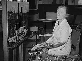 Foto van Carley Toorop in 1951