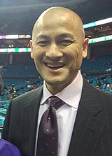 Charlotte Hornets GM Rich Cho November 1, 2015.jpeg