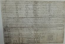 Charter of King Æthelwulf
