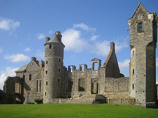 Château de Gratot, Département de la Manche, Region Basse-Normandie, France.