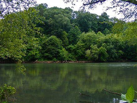 The Chattahoochee River National Recreation Area in northwestern Atlanta Chattahoochee River National Recreation.jpg