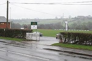 Uttoxeter Road - Image: Checkley Cricket Club geograph.org.uk 354333