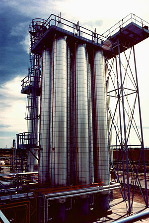Chemical Processing Equipment at a Poly-Silico...
