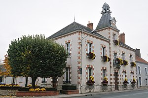 Chevilly, Loiret - The town hall in Chevilly