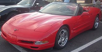 Chevrolet Corvette (C5) - Chevrolet Corvette C5 Convertible