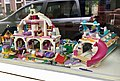Children's Toys Lego brand Mansion Boat in Window Utrecht NL 2017.jpg