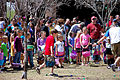 Children search for eggs at an Easter egg hunt March 30, 2013, at Unity Park at Cannon Air Force Base, N.M. More than 400 children participated in the hunt, gathering more than 3,000 hidden eggs 130330-F-KB862-058.jpg