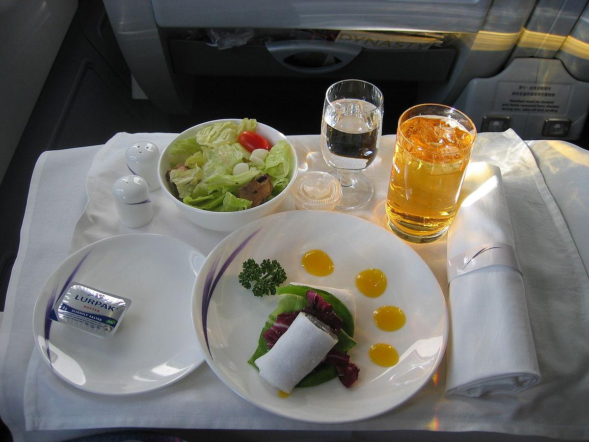 飞机餐- 维基百科,自由的百科全书