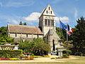 Choisy-au-Bac (60), église de la Sainte-Trinité, vue depuis le sud 3.JPG
