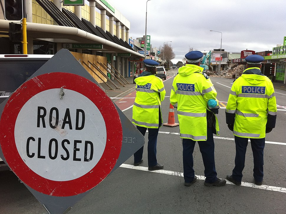 ChristchurchEarthquake RiccartonRdDemolition gobeirne