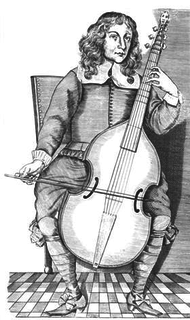 Christopher Simpson Interprete de Viola da Gamba (1605 - 1669)