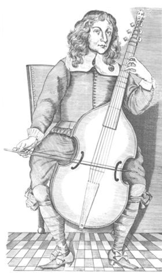 Christopher Simpson - Image from The Division Viol, possibly showing Christopher Simpson