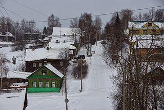 Chukhloma Town in Kostroma Oblast, Russia