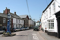 Chulmleigh - main street - geograph.org.uk - 420150.jpg