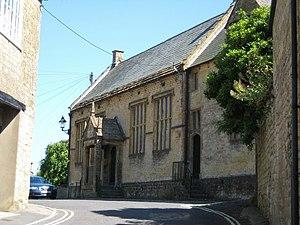 Crewkerne Grammar School - The old school building, now a parish church hall