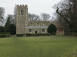 Church at Offord Cluny - geograph.org.uk - 118156.jpg