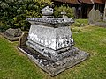Church of St Andrew's, Boreham, Essex - churchyard table tomb monument.jpg