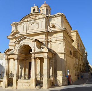 Church of Saint Catherine of Italy, Valletta Church in Valletta, Malta