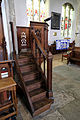 Church of St Mary Hatfield Broad Oak Essex England - pulpit.jpg