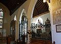 Church of St Mary Little Easton Essex England sanctuary south chapel arcade.jpg