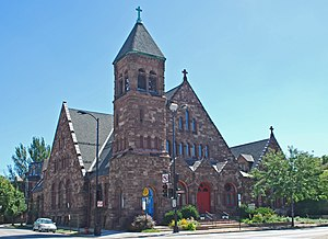 Jackson Boulevard District and Extension - Church of the Epiphany