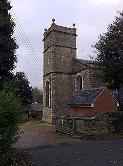 Church tower, Gawcott - geograph.org.uk - 1046242.jpg