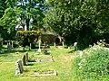 Churchyard, The Parish Church of St John the Baptist, Bodicote - geograph.org.uk - 1891765.jpg