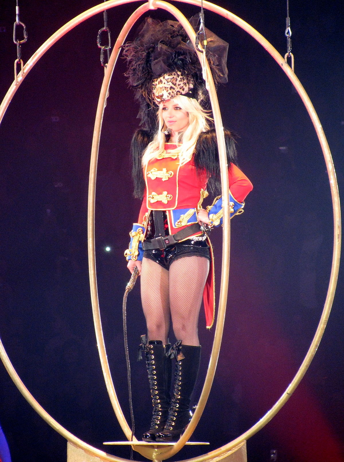 Britney spears circus concert pussy