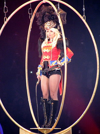 "The Circus Starring Britney Spears - Spears performing ""Circus"" as the opening song."