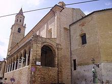 Veduta della Collegiata di San Michele Arcangelo