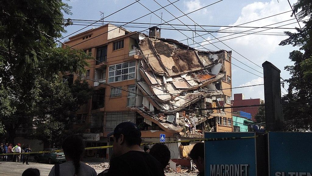Ciudad de México - Terremoto Puebla 2017 3