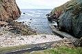 Clais Chàrnach jetty, Cape Wrath - geograph.org.uk - 1030270.jpg