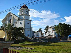 Clarin, Bohol - Image: Clarin 1 earthquake