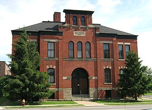 Clay Office and Conference Center - Image: Clay School Detroit Michigan