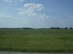 Although located near Dayton, Clay Township is rural enough that it has many farms.