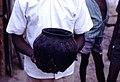 Clay pot, side view, Kabala, Sierra Leone (west Africa) 1967 (2782733674).jpg