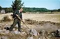 Cleansing of archaeological site, Häggum, Västergötland, Sweden (17306656984).jpg