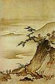 Cloche dans la brume au crépuscule par Shōkei Ten'yū.jpg