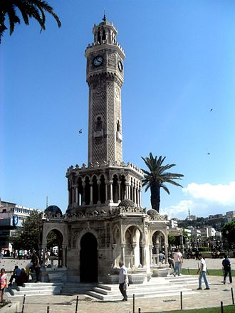 İzmir Clock Tower - From the East