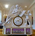 Clock by Jean-Nicolas Schmit, Paris, with bisque porcelain figures from the Duc d'Angoulême's porcelain factory, c. 1785-1790 - Waddesdon Manor - Buckinghamshire, England - DSC07789.jpg