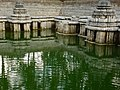 Close up of minor shrines in the Kalyani at Hulikere.jpg
