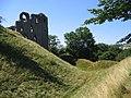 Clun Castle Earthworks - geograph.org.uk - 1149608.jpg