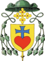 Coat of arms bishop Nicolas Steno 1677.png